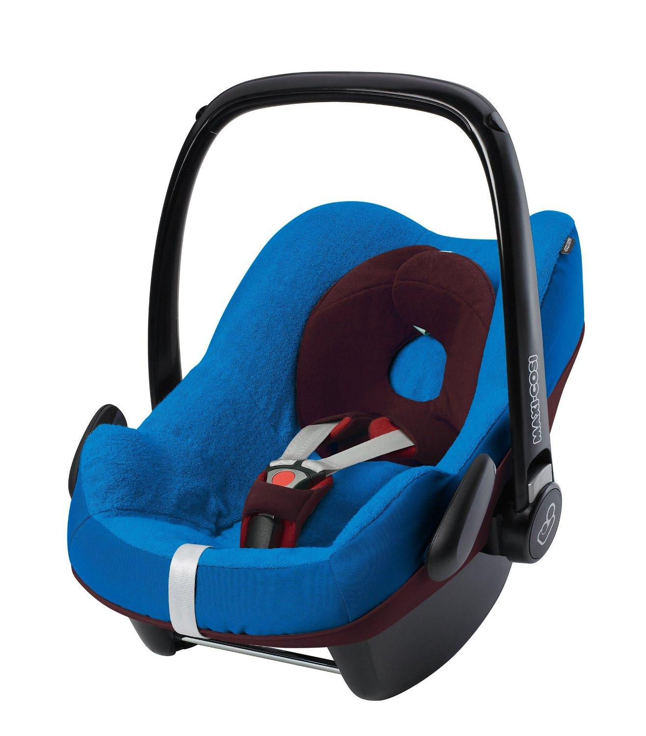 maxi cosi pebble car seat summer cover blue 2014 range. Black Bedroom Furniture Sets. Home Design Ideas