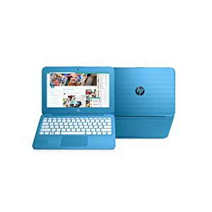 HP Stream 11-y000na Laptop, long battery life laptops, very light laptops, laptops for family, blue