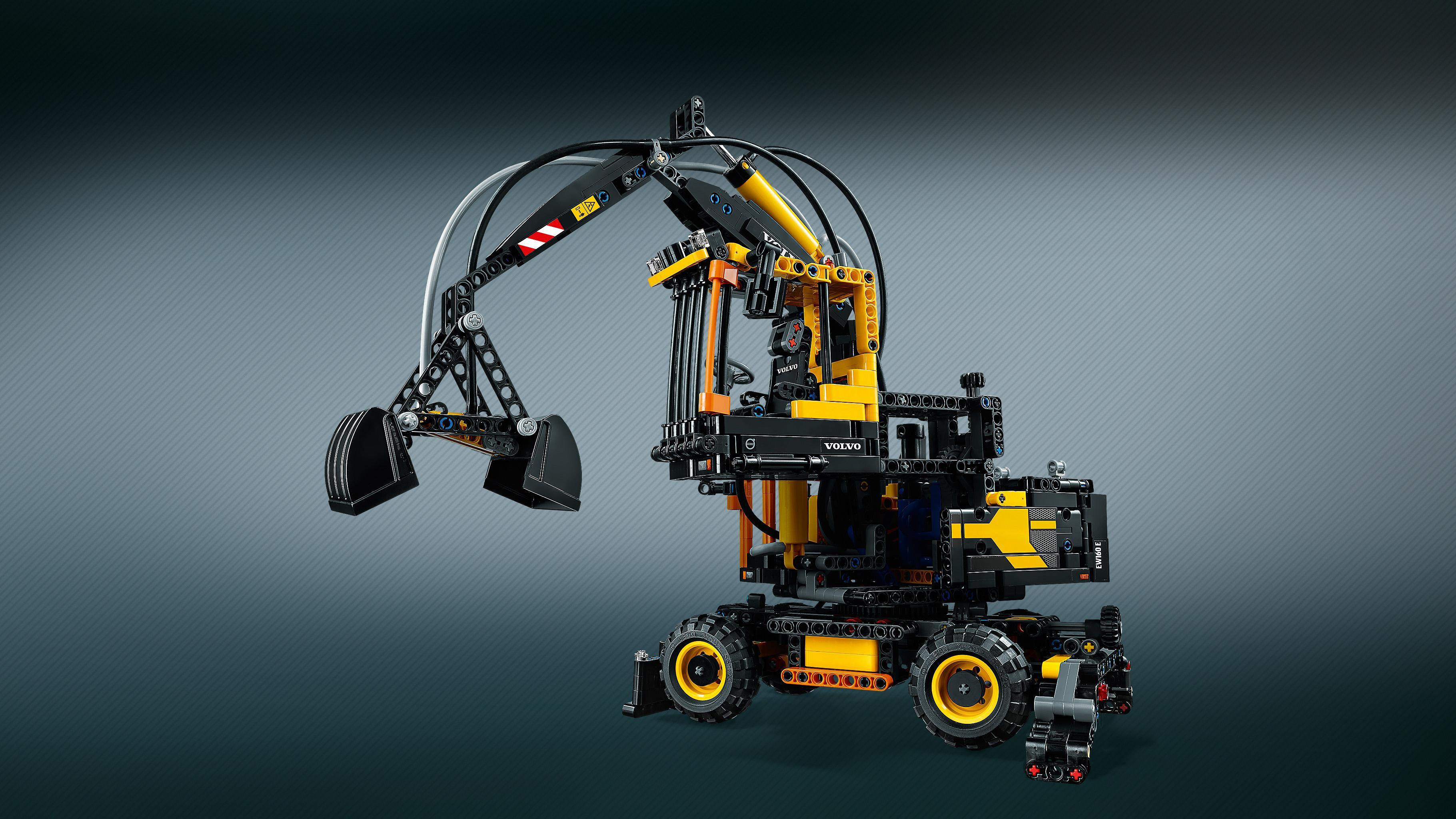 lego 42053 technic volvo ew160e building set multi coloured toys games. Black Bedroom Furniture Sets. Home Design Ideas