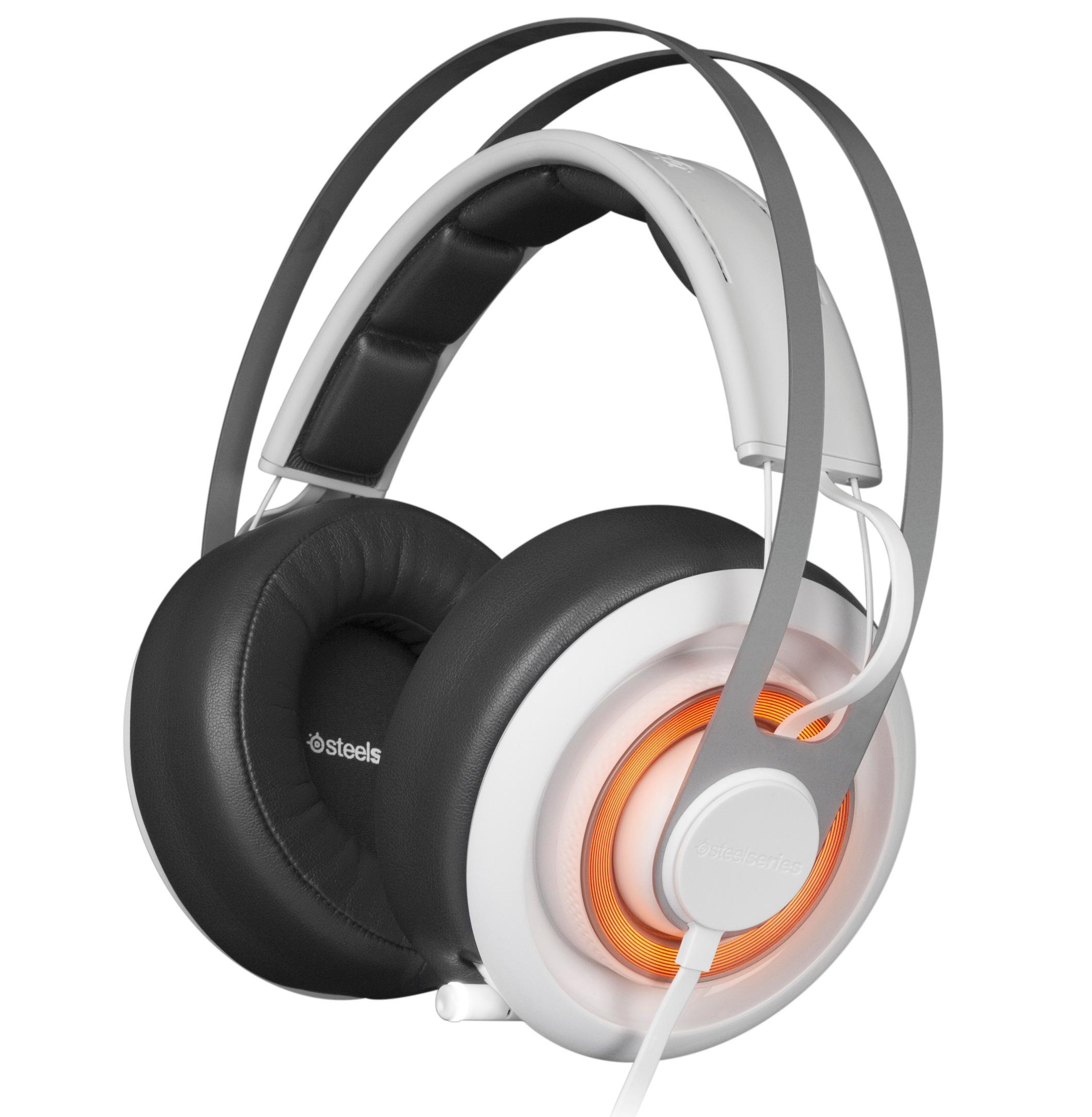 8c2f447b87b SteelSeries Siberia Elite Prism Gaming Headset-Artic White: Amazon ...