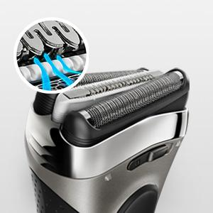 Braun Series 3 340s-4/3040 Wet and Dry Electric Foil Shaver