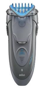 Braun CruZer6 Face - All-In-One Electric Shaver Plus Styler and Trimmer Wet and Dry
