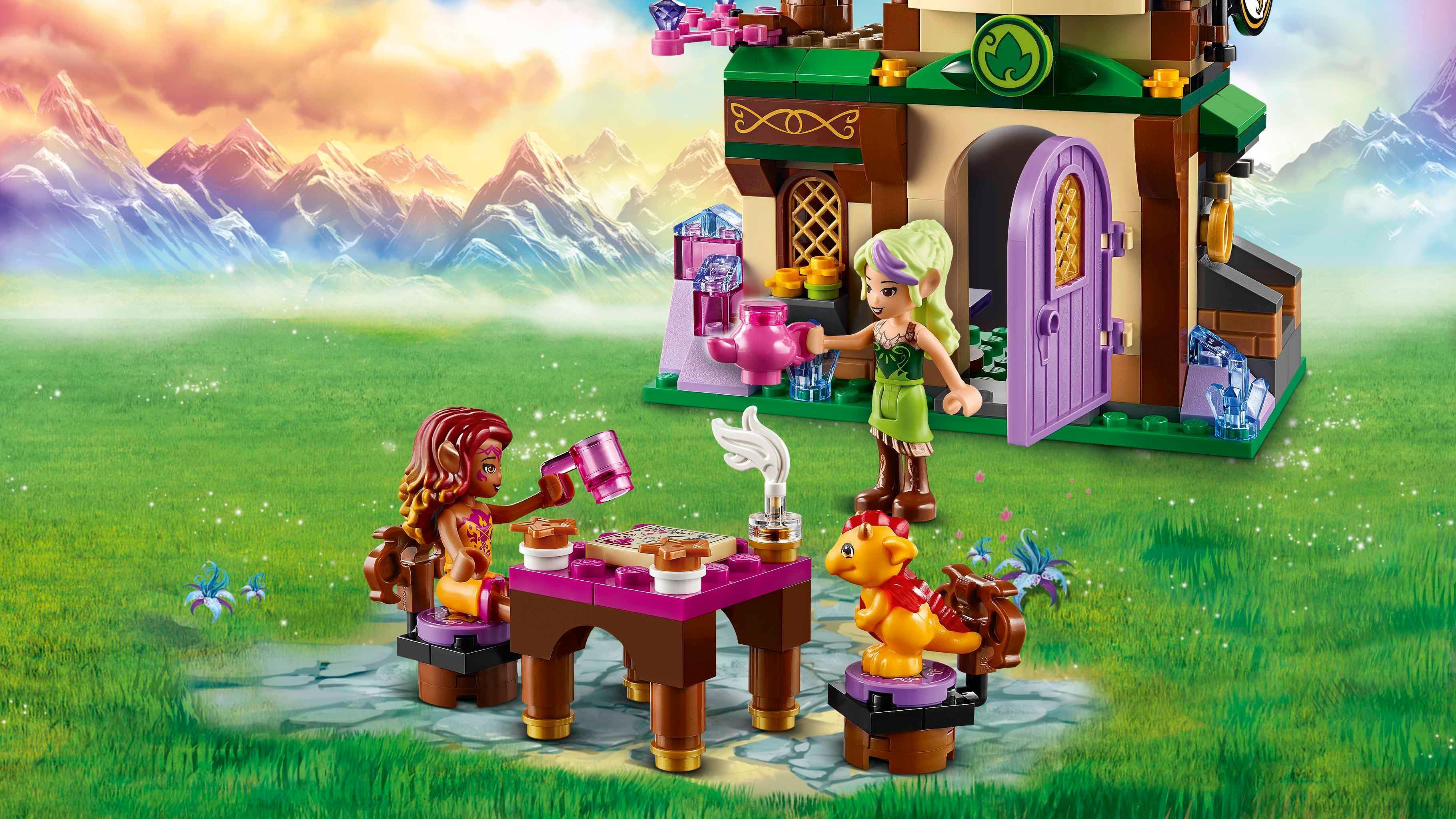 Lego Elves 41174 The Starlight Inn Amazon Co Uk Toys Amp Games