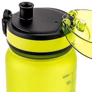 bpa free water bottle, fast flow
