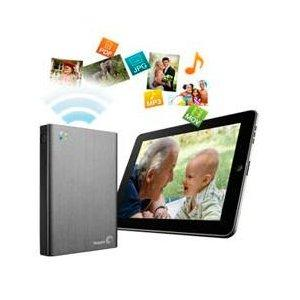 Seagate Wireless Plus Portable Hard Drive with Built-in Wi-Fi