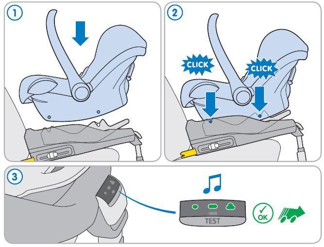 maxi cosi cabriofix group 0 infant carrier car seat. Black Bedroom Furniture Sets. Home Design Ideas