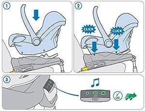 Maxi-Cosi 63350080 FamilyFix Car Seat Base ISOFIX 2