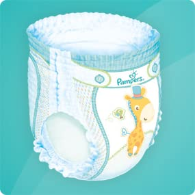 Pampers Baby Dry 58 Nappy Pants 15 Kg Size 6 Amazon Co