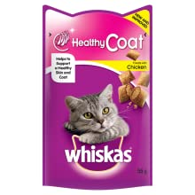 Whiskas;whiskas cat treats;whiskas healhy coat