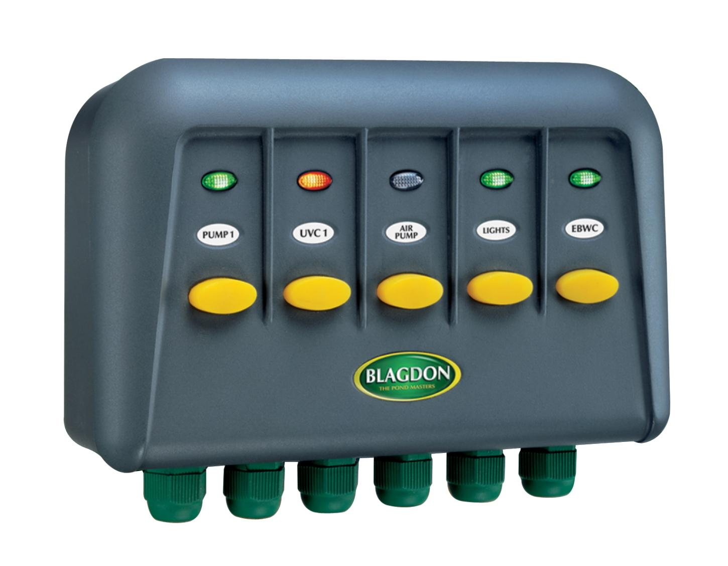 Blagdon Powersafe Switchbox 5 Outlet Garden Outdoors Wiring Junction Box With Switch View Larger