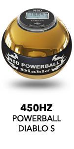 450Hz Powerball Diablo Pro S