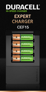 Duracell Expert Charger CEF 15