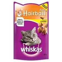 Whiskas anti hairball;whiskas;whiskas cat treats