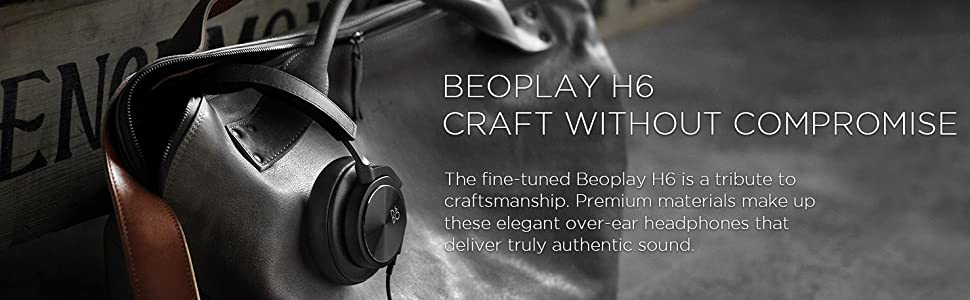 Beoplay H6, B&O PLAY, headphones, over-ear headphones