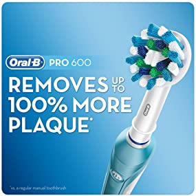 Oral B Pro 600 Crossaction Electric Rechargeable