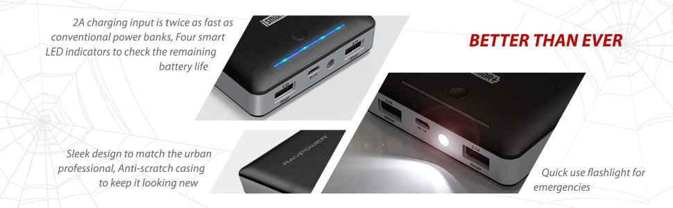 portable phone charger 16000mAh