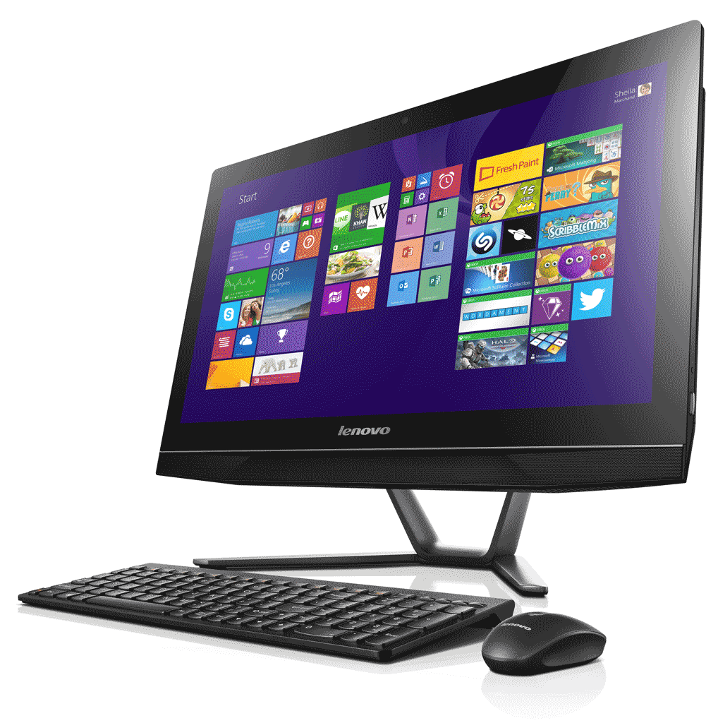 lenovo b40 21 5 inch touchscreen all in one desktop pc. Black Bedroom Furniture Sets. Home Design Ideas