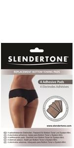 Genuine Slendertone Bottom toning shorts replacement gel pads