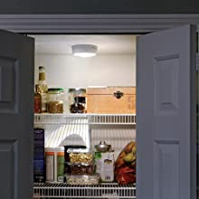 mr beams ceiling light, motion activated ceiling light, wireless light for pantry