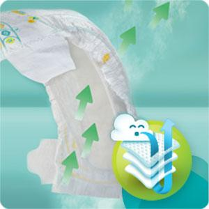 pampers babry dry nappies