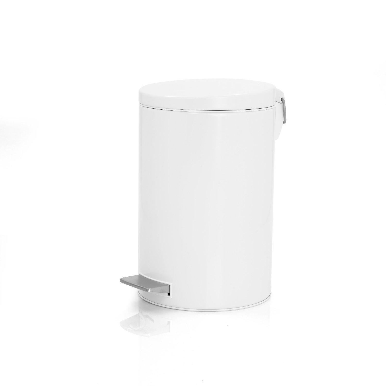 brabantia silent pedal bin plastic inner bucket 12 l. Black Bedroom Furniture Sets. Home Design Ideas
