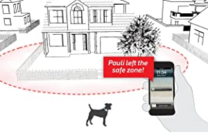 Safe zone, Tractive GPS, GPS for dogs and cats