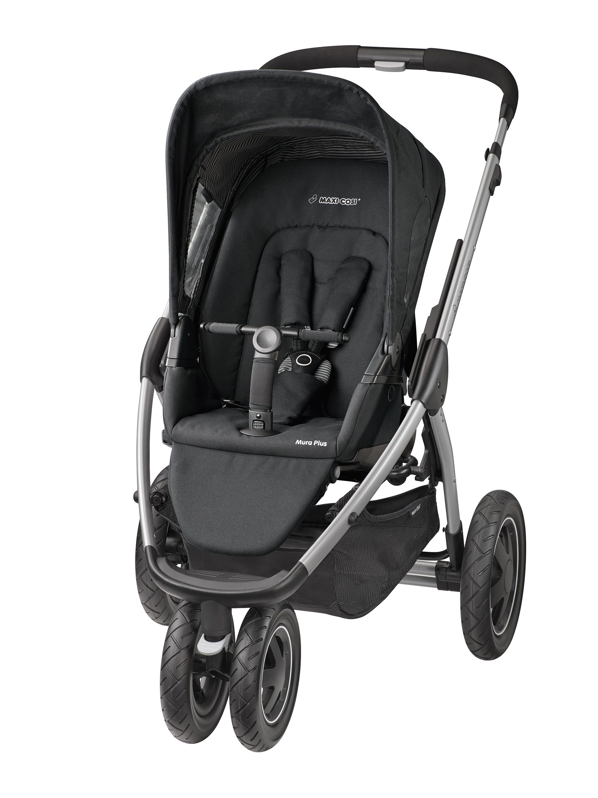 maxi cosi mura plus pushchair black raven. Black Bedroom Furniture Sets. Home Design Ideas