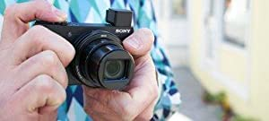 Sony, DSCHX90, Digital Compact Camera, Optical Zoom, 180 Defree Tiltable LCD Screen, View Finder