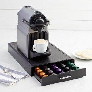 amazonbasics nespresso pod storage drawer 50 capsule capacity kitchen home. Black Bedroom Furniture Sets. Home Design Ideas