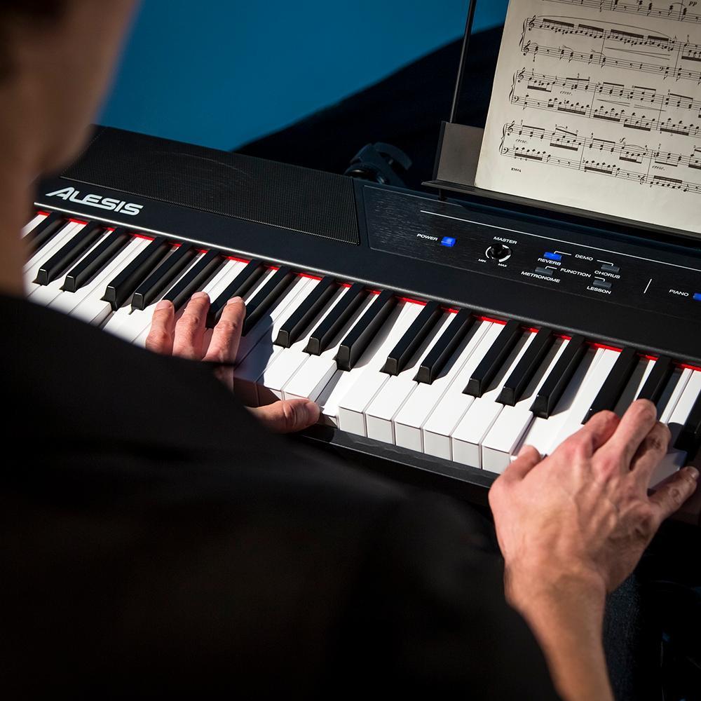 Alesis Recital 88 Key Beginner Digital Piano With Full