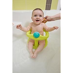 Safety 1st Swivel Bath Seat - Lime: Amazon.co.uk: Baby