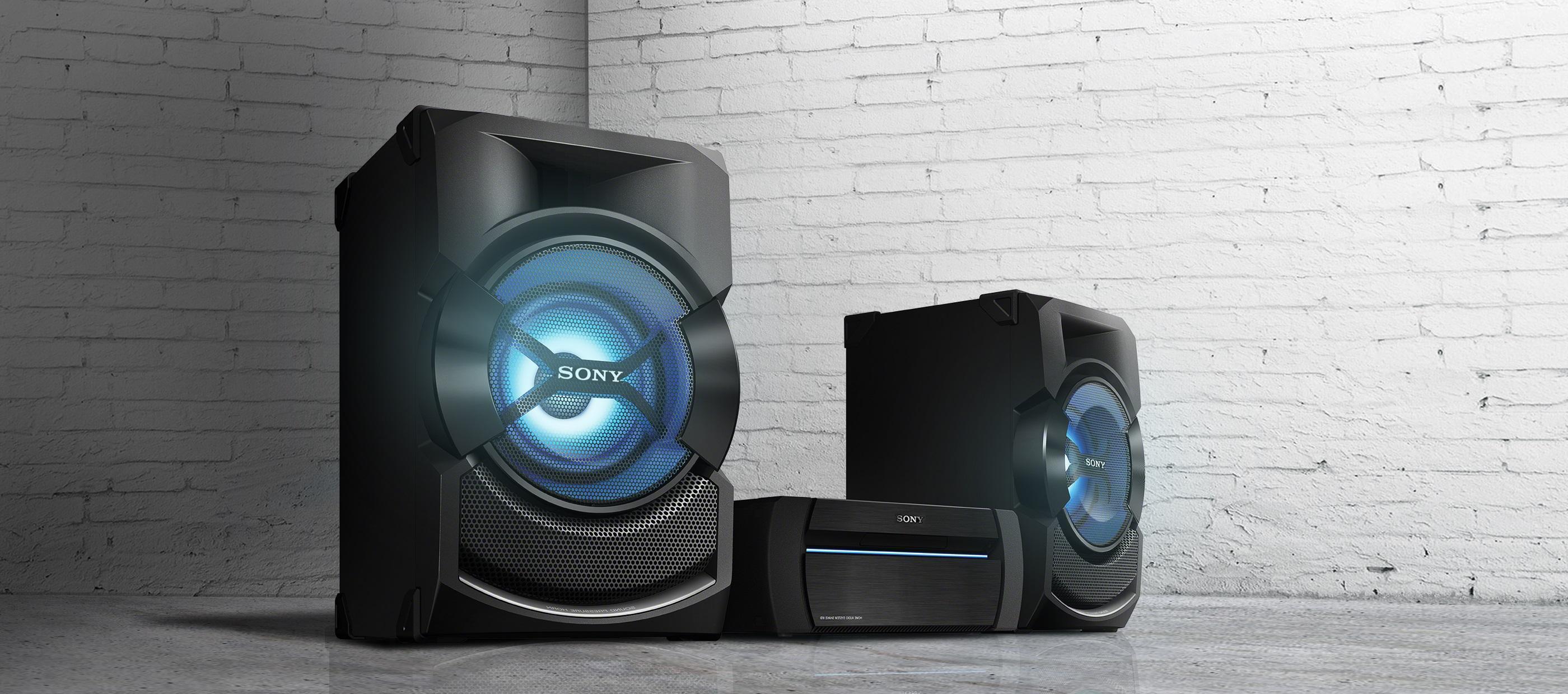 Sony Shake X1d High Power Audio System Black Amazon Co