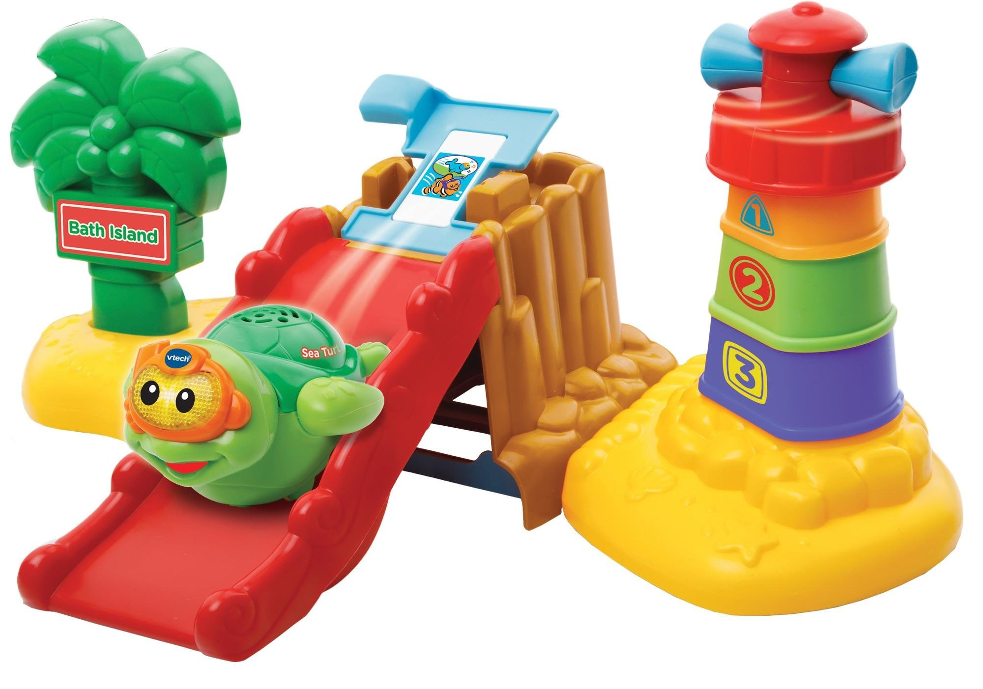 ***** Bath Toy Vtech Toot-Toot Splash CRAB ***** Light and Sounds
