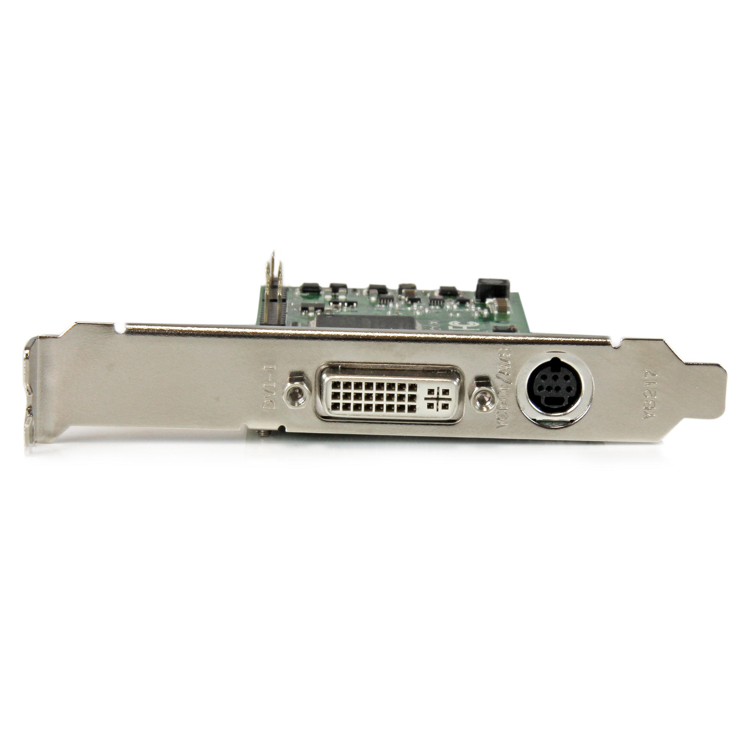 StarTech.com PCIe Video Capture Card - HDMI / DVID / VGA