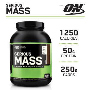 Serious mass high protein