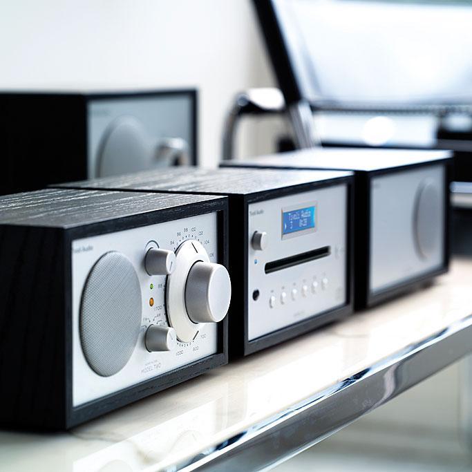 Tivoli audio model cd player cherry taupe for Amazon tavoli