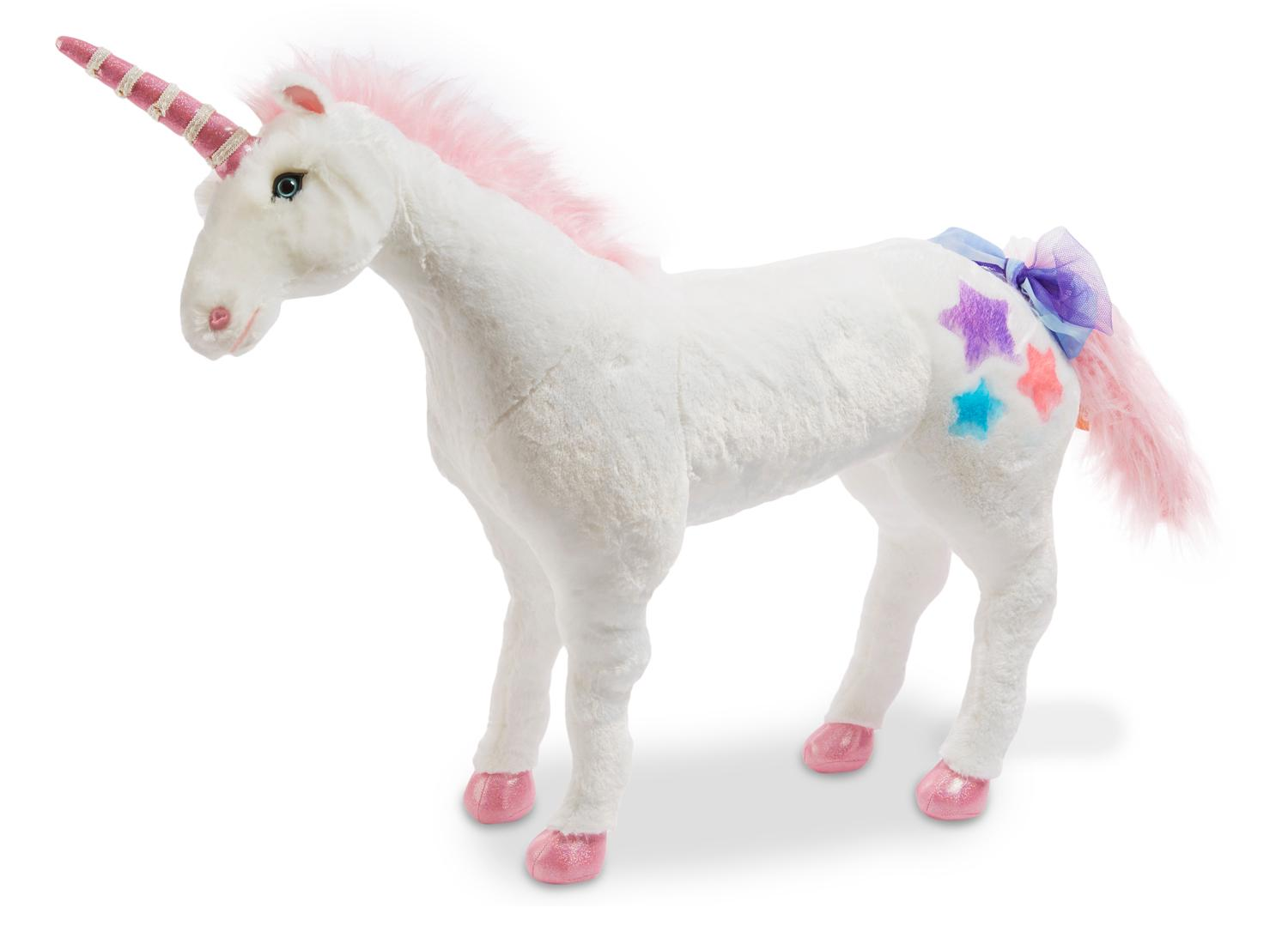 Unicorn Toys For Girls : Melissa doug giant unicorn lifelike stuffed animal