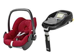 maxi cosi pebble car seat and familyfix isofix base. Black Bedroom Furniture Sets. Home Design Ideas