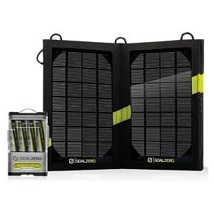 Solar, charging, goal zero, guide 10 plus, solar panel