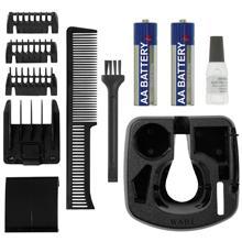 wahl 9906 2017 silver groomsman battery hair beard and moustache trimmer set. Black Bedroom Furniture Sets. Home Design Ideas