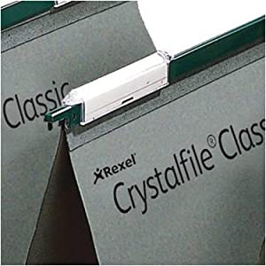 Rexel 78650 Crystalfile Linked Foolscap Suspension File