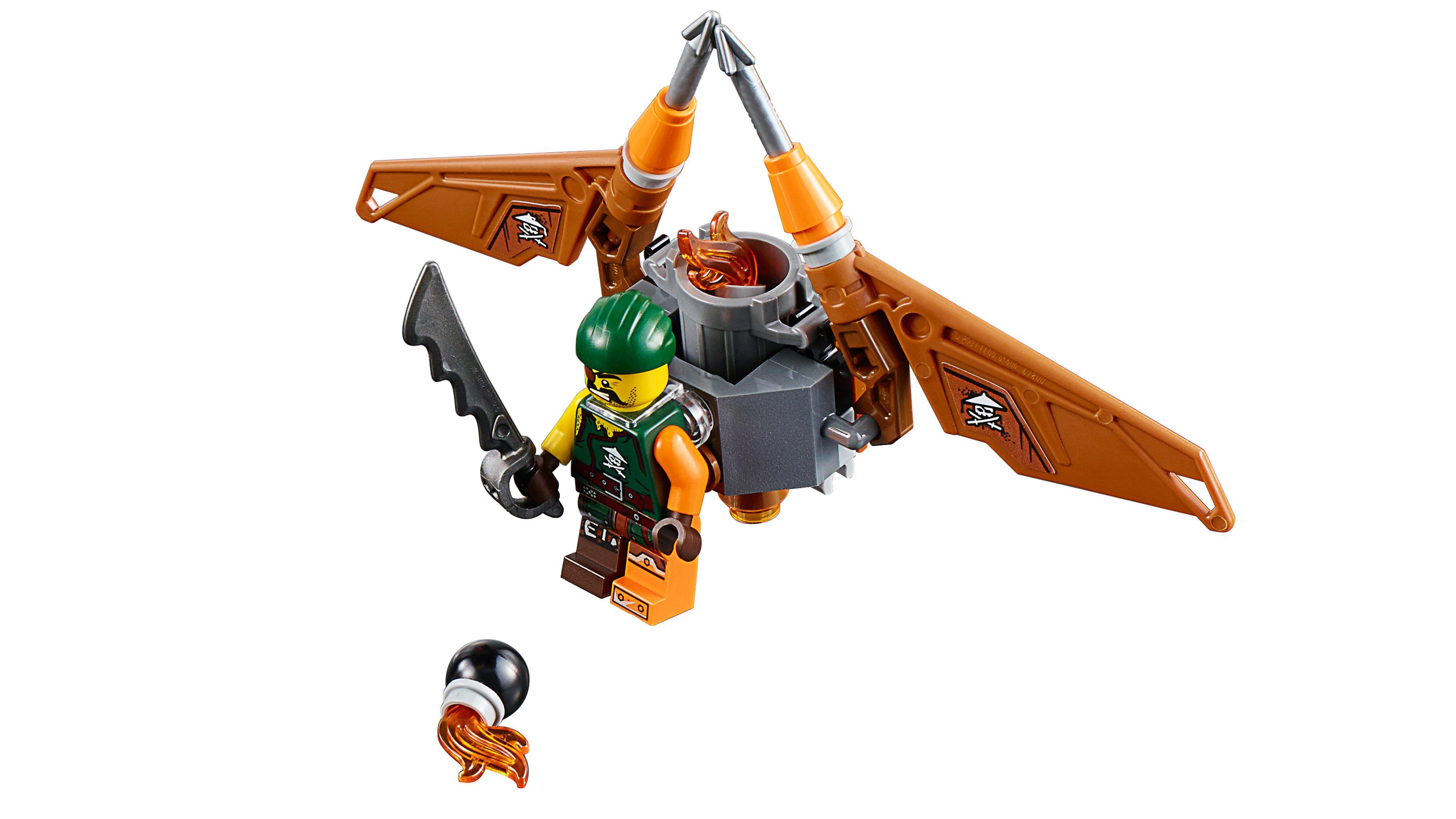 Lego Ninja Toys : Lego ninjago ninja bike chase playset amazon