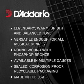 d 39 addario ej16 phosphor bronze light 012 053 acoustic guitar strings musical. Black Bedroom Furniture Sets. Home Design Ideas
