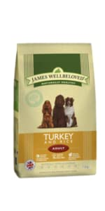 James Wellbeloved; Adult; Turkey & Rice; Dog Food