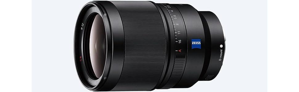 Sony, SEL35F14Z, Lens, 35mm, F 1.4 Distagon T* ZA-E-Mount Full Format, A7 Series, Camera