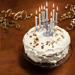 CAKE CANDELABRA Candle Cake Topper