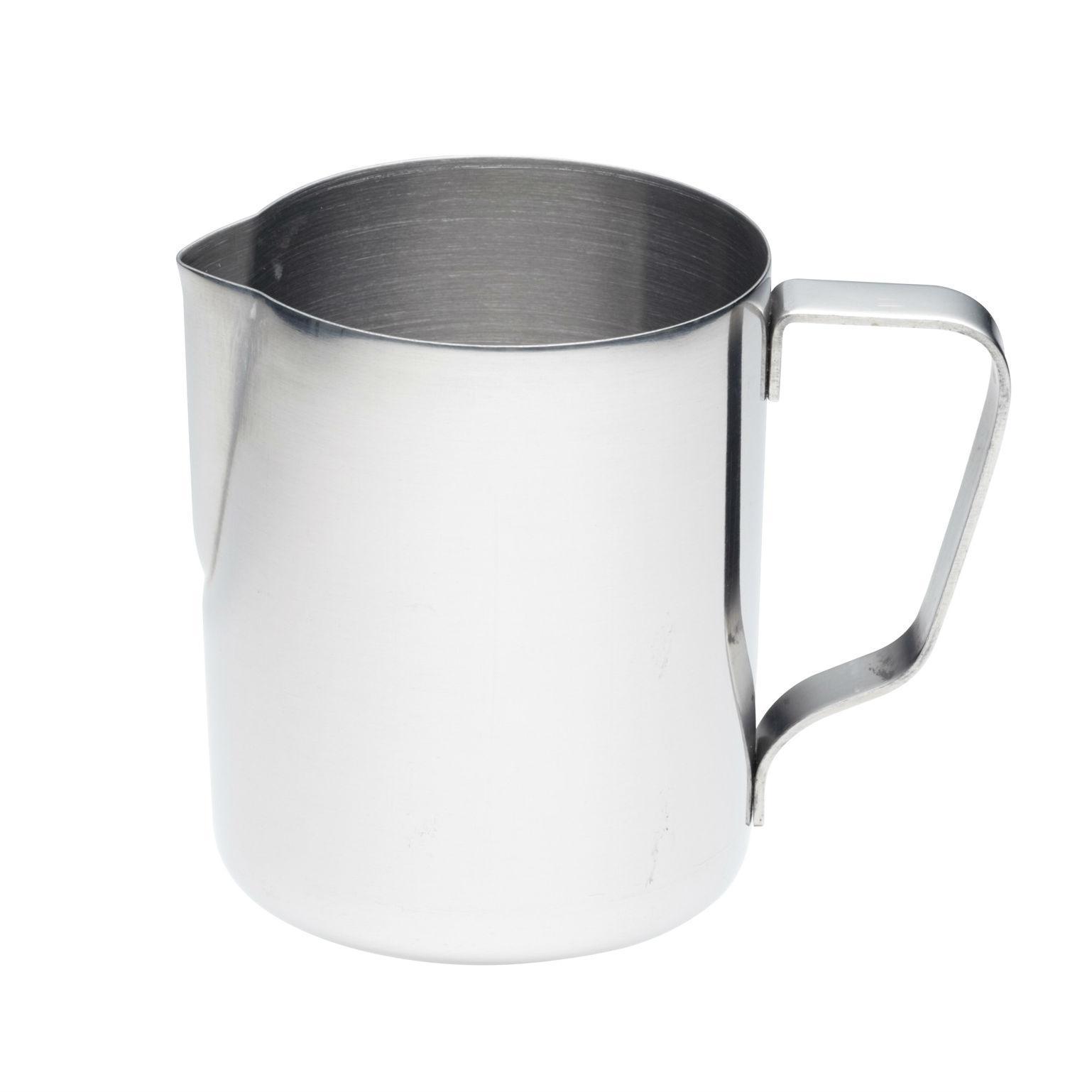 kitchencraft small stainless steel milk jug frothing jug. Black Bedroom Furniture Sets. Home Design Ideas