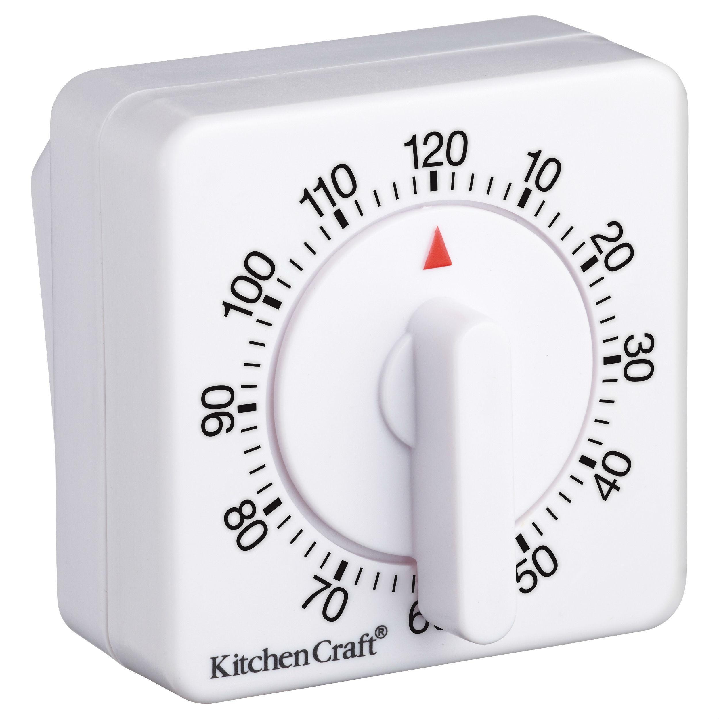 Kitchencraft Wind Up Mechanical 1 Hour Kitchen Timer