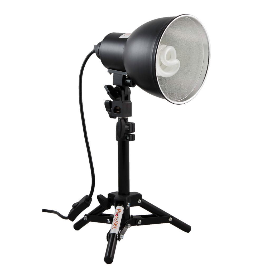 Studio Lighting Kit Amazon: PhotoSEL LS11E21 26-40cm Tabletop Studio Lighting Kit