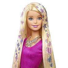 Barbie Glitter Hair Doll: Amazon.co.uk: Toys & Games